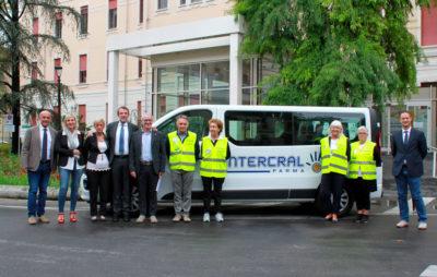 Verso il Sereno ODV - Uno dei mezzi di trasporto per i pazienti oncologici